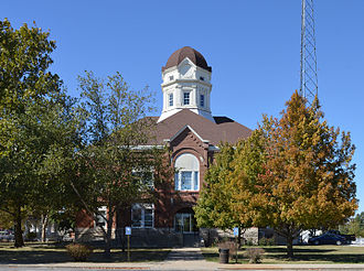 Shelby County, Missouri - Image: Shelby County MO courthouse 20151003 007