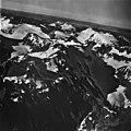 Shelt Peak, mountain glacier, firn line and hanging glaciers, September 12, 1973 (GLACIERS 5875).jpg