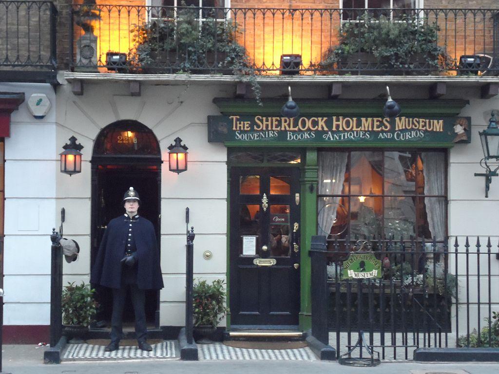 Filesherlock Holmes Museum 221b Baker Streetjpg Wikimedia Commons
