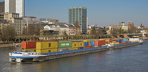 Ship VRIDO II on the river Main in Frankfurt Germany - 02.jpg