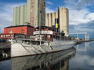 Norrtälje - S/S Norrtelje in the Norrtälje harbour