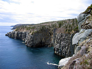 Avalon Peninsula - The coast of the Avalon Peninsula, in the province of Newfoundland and Labrador