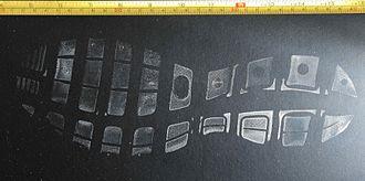 Footprint - Shoeprint left at crime scene