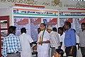 Shri M. Krishanassamy, Member of Parliament visiting Bharat Nirman Public Information Campaign stalls, at Gingee, Tamil Nadu on January 26, 2014. The Director, PIB, Chennai, Shri M.V.S. Prasad is also seen.jpg