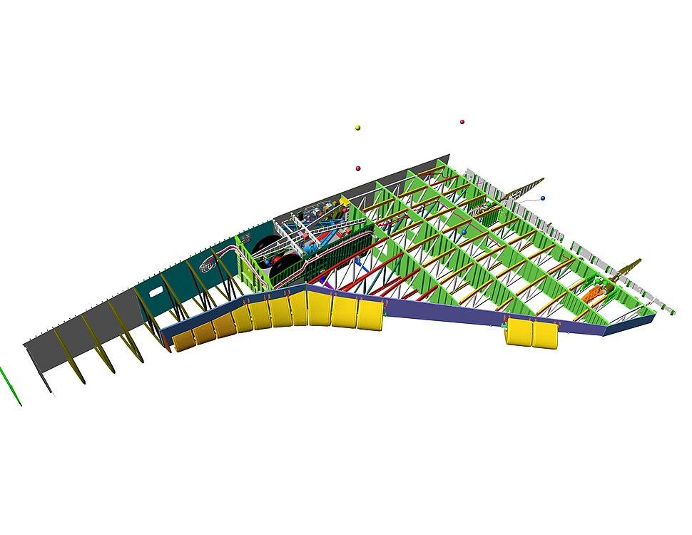 Shuttle Left Wing Cutaway Diagram