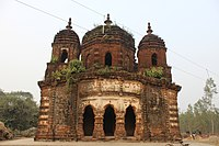 Shyamchand temple at Boital in Bankura district 06.jpg