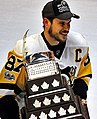 Sidney Crosby with Conn Smythe Trophy 2017-06-11 1 (cropped).jpg