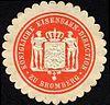 Siegelmarke Königliche Eisenbahn - Direction zu Bromberg W0229440.jpg