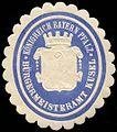 Siegelmarke Königreich Bayern Pfalz - Bürgermeisteramt Kusel W0235097.jpg
