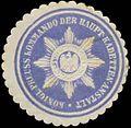 Siegelmarke K.Pr. Kommando der Haupt-Kadetten-Anstalt W0379357.jpg