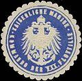 Siegelmarke K. Marine Kommando der VII. Flottille W0357575.jpg