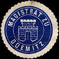 Siegelmarke Magistrat zu Doemitz W0293203.jpg