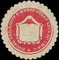 Siegelmarke Siegel der Haupt und Kreys-Stadt Luckau-Lausitz W0393492.jpg