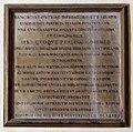Siena, biblioteca degli intronati, lapidi e memorie nell'androne, lapide ferdinando III.jpg