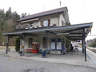 Sihltal railway line Railway service in Switzerland