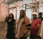 Silkski, ODB and Mother at press conference