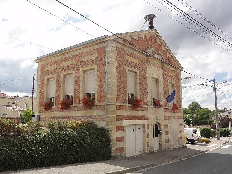 Silmont (Meuse) mairie-école