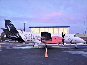 Silver Airways - Saab 340B at Shenandoah Valley Regional Airport.