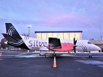 Silver Airways - Saab 340B at Shenandoah Valley Regional Airport