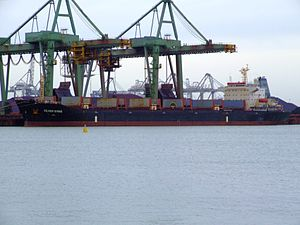 Silver Shing p2 IMO 9108910, Mississippi harbour, Port of Rotterdam, Holland 04-Mar-2007.jpg