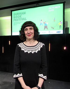 Sinéad Morrissey - Sinead Morrissey at the Durham Book Festival in 2015
