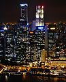 Singapore Marina Bay viewed from Marina Bay Sands bei Nacht 10.jpg