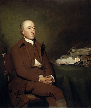 James Hutton - Hutton as painted by Sir Henry Raeburn in 1776