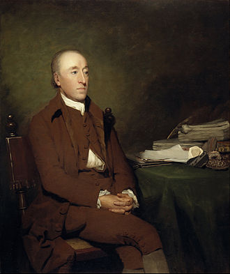 James Hutton - Hutton painted by Sir Henry Raeburn (1776)
