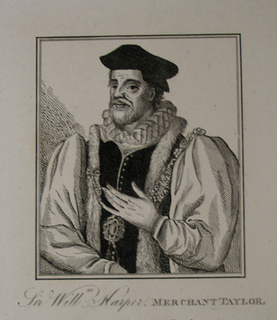 William Harpur Lord Mayor of London, 1561