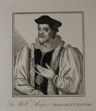 William Harpur - Harper, from an 18th-century engraving