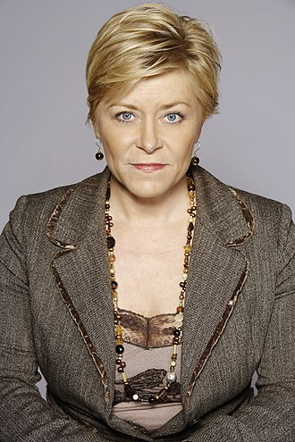 Progress Party (Norway) - Siv Jensen, the current leader of the Progress Party