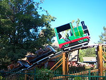 Description de l'image Six Flags Magic Mountain children area.jpg.
