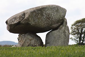 Newcastle, County Down - Slidderyford Dolmen