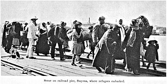 Population transfer - Greek refugees from Smyrna, 1922