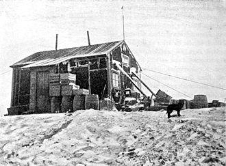 Snow Hill Island - Nordenskiöld House, 1902 photograph