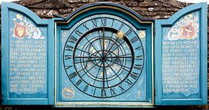 Nychthemeron - The Nychthemeron Clock in Snowshill Manor, Gloucestershire, UK