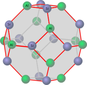 Faujasite - Individual cage as a truncated octahedron