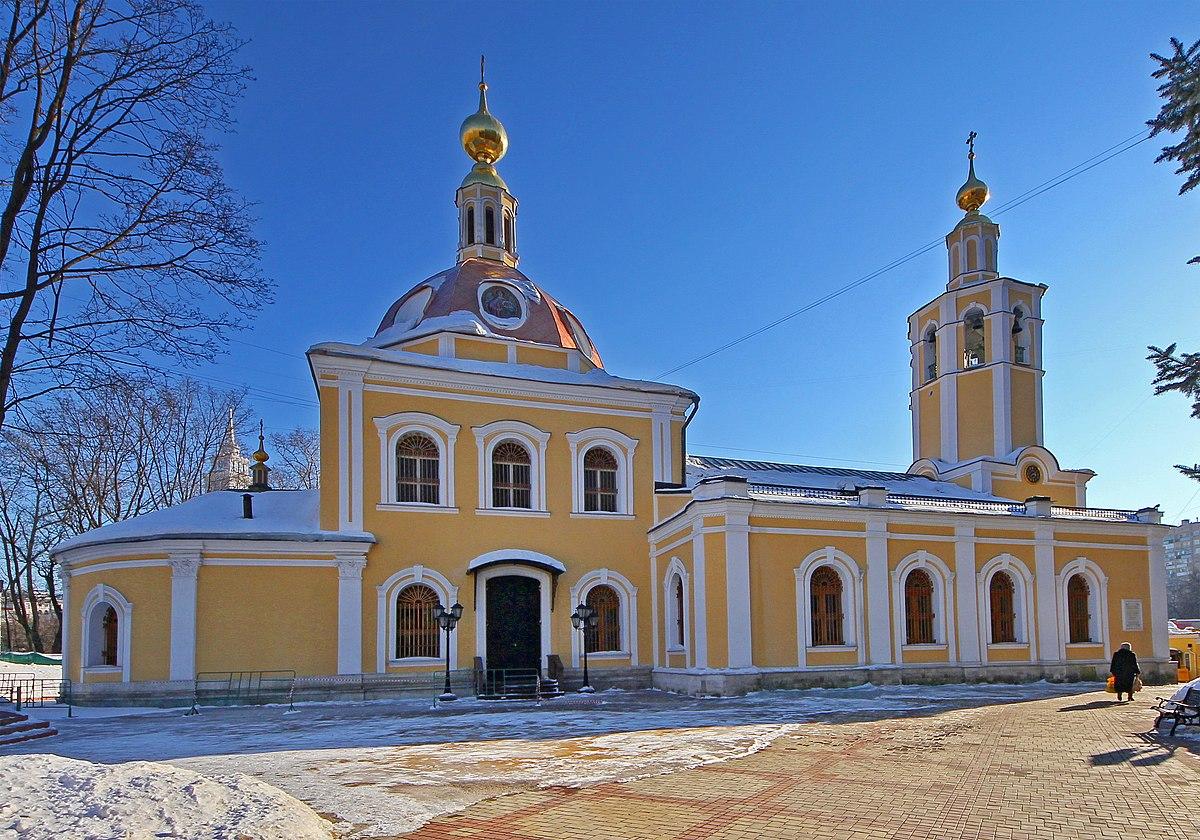 Храм Всех Святых во Всехсвятском — Википедия