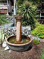 Solar powered fountain near the McVay Staircase.jpg