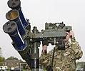 Soldier Mans Starstreak HVM High Velocity Missile System During Exercise Olympic Guardian for London 2012 MOD 45153958.jpg