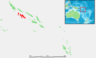 New Georgia Largest of the islands in Western Province, Solomon Islands