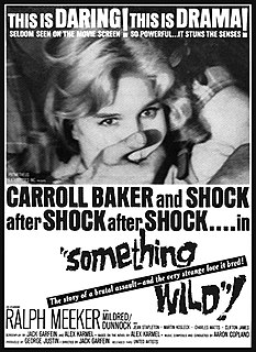 <i>Something Wild</i> (1961 film) 1961 film by Jack Garfein