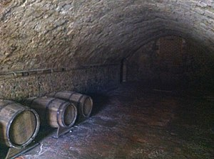 Medieval Merchant's House - The undercroft, designed to store wine