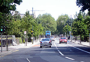 Portobello, Dublin - South Circular Road, Portobello, looking towards Harrington Street