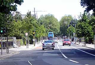 Suburb of Dublin in Leinster, Ireland