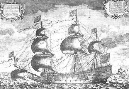 Sovereign of the Seas, a contemporaneous engraving by J. Payne Sovereign of the Seas.jpg