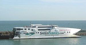 High-speed craft - SpeedFerries SpeedOne - a high-speed wavepiercer catamaran