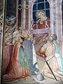 Spinello aretino, Caterina in prigione converte le dame e riceve la visita di Cristo 03.JPG