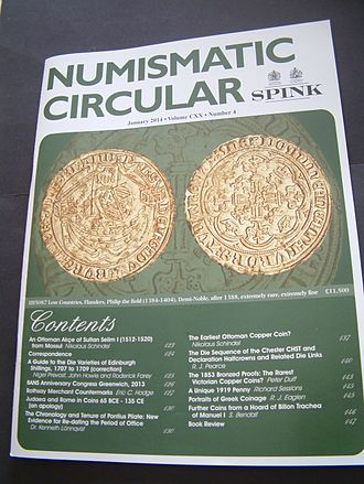 Spink & Son - Copy of the Spink Circular from 2014