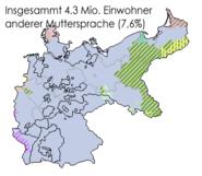 Sprachen deutsches reich 1900 nichtdeutsch